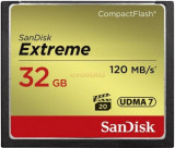 Card de memorie SanDisk Compact Flash Extreme 32GB, 120 MB/s