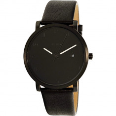 Ceas Skagen barbatesc Hagen SKW6308 negru Leather Quartz Fashion - Ceas barbatesc
