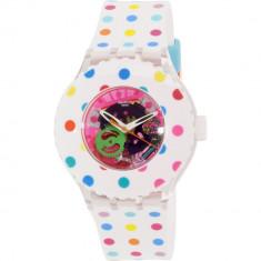 Ceas Swatch dama Originals SUUK108 Multicolor Rubber Quartz