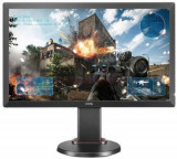Monitor Gaming TN LED BenQ 24inch ZOWIE RL2460, Full HD (1920 x 1080), HDMI, DVI, VGA, 1 ms, Boxe (Negru), 24 inch