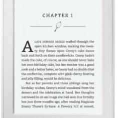 E-Book Reader Kindle PaperWhite Editia 2014, Ecran Paperwhite (Built-in light), 16 nivele tonuri de gri, 6inch, 4GB, Wi-Fi (Alb)