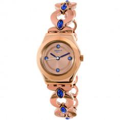 Ceas Swatch dama Irony YSG148G auriu roze auriu Stainless-Steel Swiss Quartz