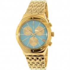 Ceas Swatch dama Irony YCG413G auriu Stainless-Steel Swiss Quartz