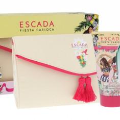 Apa de toaleta ESCADA Fiesta Carioca Dama 100ML Edt 100 ml + Lotiune de corp 150 ml + Cosmetic bag - Parfum femeie