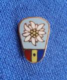 Insigna Turism - Floare de colt - Romania - RSR
