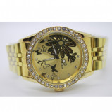Ceas automatic DEBOR de dama FULL AUTOMATIC/ Mecanic GOLD 071, Lux - elegant, Mecanic-Automatic, Otel
