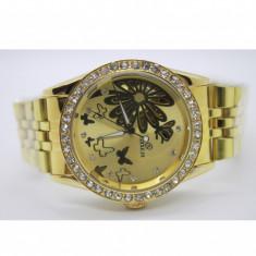 Ceas automatic DEBOR de dama FULL AUTOMATIC/ Mecanic GOLD 071 - Ceas dama, Lux - elegant, Mecanic-Automatic, Otel, Inox, Analog
