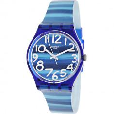 Ceas Swatch dama Originals GN237 albastru Plastic Swiss Quartz - Ceas dama
