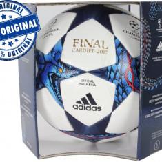 Minge fotbal Adidas Finale - oficiala de joc - originala Adidas - profesionala, Champions League, Marime: 5, Gazon