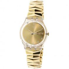 Ceas barbatesc Swatch Originals auriu Stainless-Steel Swiss Quartz GE708A