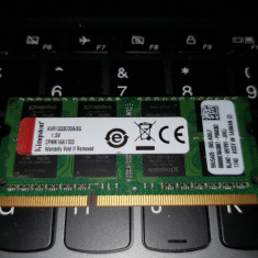 Memorie Laptop SODIMM Kingston 8GB DDR3 PC3-10600S 1333Mhz 1.5V - Memorie RAM laptop
