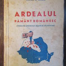 ARDEALUL PAMANT ROMANESC - MILTON G. LEHRER - Carte Istorie