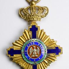Ordinul / Decoratia Steaua Romaniei tip1, Ofiter