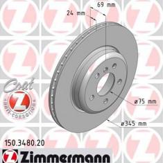 Disc frana ZIMMERMANN 150.3480.20 - Discuri frana