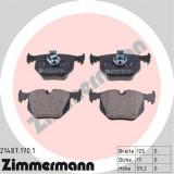Set placute frana ZIMMERMANN 21487.170.1