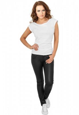 Pantaloni imitatie piele dama foto