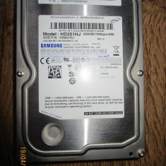 Hard Disk SATA2 250Gb Samsung Desktop 7200rpm Perfect functional, poze reale., 200-499 GB, 8 MB