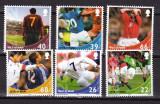 Man  2002  sport  fotbal  MI 967-972   MNH  w50, Nestampilat
