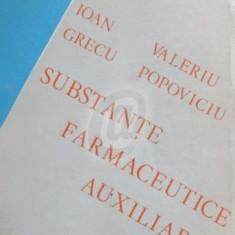 Substante farmaceutice auxiliare - Carte Farmacologie