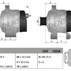 Alternator DENSO DAN930 - Alternator auto