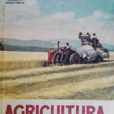 Agricultura. Solul, lucrarile agrotehnice, cultura plantelor de camp. Manual pentru clasa a V-a - Carte gradinarit