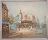 REDUCERE: Tablou original Caroline C. Burnett, Peisaje, Ulei, Realism