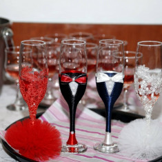 Pahare nunta pentru miri si nasi