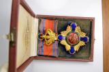 Ordinul / Decoratia Steaua Romaniei Comandor Civil, la cutie