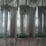 Set 6 pahare  din sticla 27 cl