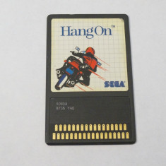 Joc SEGA Master System 1 - Hang On - Jocuri Sega, Sporturi, Toate varstele, Single player