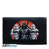 Portofel Star Wars Wallet Logo Vader & Troopers