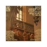 BACH: Magnificat D-dur BWV 243 * BRUCKNER: Te Deum ( disc vinil )