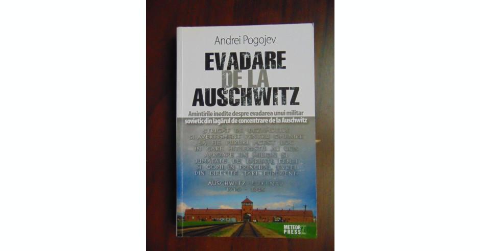 Imagini pentru evadare din auschwitz andrei pogojev recenzie