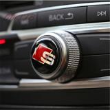 Sticker Audi S Line buton logo emblema sline