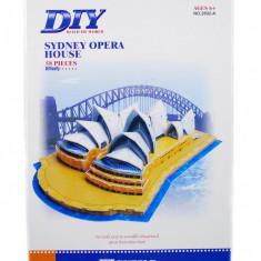 Puzzle 3D Sydney Opera House - Puzzle educational