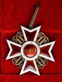 Ordinul / Decoratia Coroana Romaniei in grad de Comandor, model I