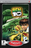 Ben 10 Protector of Earth PLATINUM - PSP [Second hand] fm, Actiune, 12+, Single player