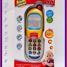 Telefon de jucarie - Slider Bebe Phone - pentru bebelusi vorbareti!