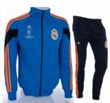 Trening REAL MADRID - Bluza si pantaloni conici - Modele noi - Pret Special, L, M, S, XL, XXL, Poliester