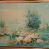 REDUCERE: Tablou original Carson, Peisaje, Ulei, Realism