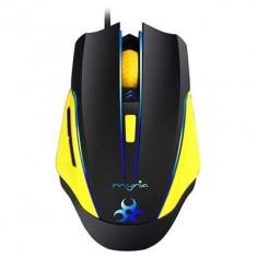 Mouse Gaming Myria M7507 2500 Dpi Negru, USB