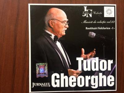 tudor gheorghe restituiri folclorice vol 1 cd disc muzica populara jurnalul 2008 foto