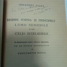 DEDICATIE CONSTANTIN NOICA