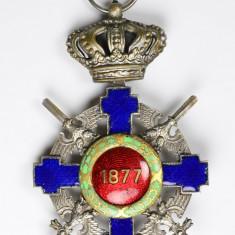 Ordinul / Decoratia Steaua Romaniei tip 2, Cavaler, De Razboi