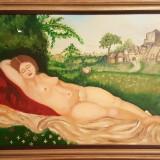 Tablou Karl-Heinz Herfurth, Nud, Ulei, Realism