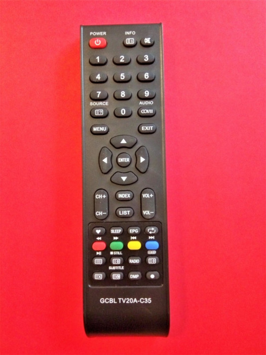 Telecomanda LCD SAMUS, ORION, SMARTTECH, GCBL, ZANUSSI, SENCOR, CHANGHONG, SABA