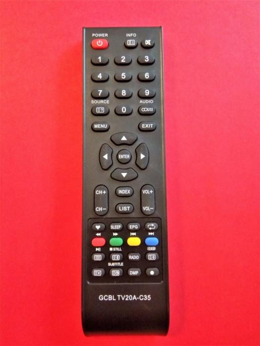 Telecomanda SAMUS 19SM48CD, 22SM56CS, 24SM61ED, LE22A3, LE29A2 LC32AF SMT32DTV1
