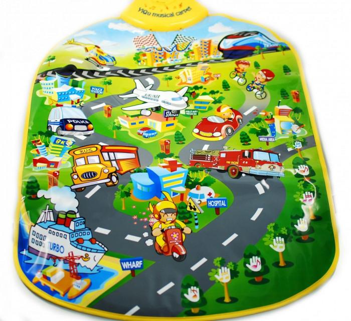 Covoras muzical City music traffic pentru copii
