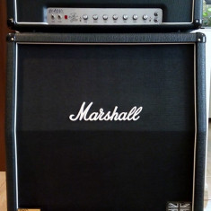 Amplificator Marshall AFD 100 Slash Signature + Marshall 1960A Vintage