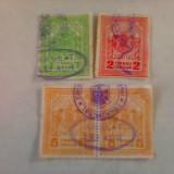 Lot de patru tibbre consulare